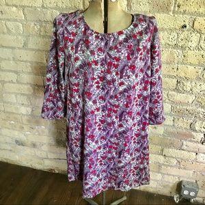 BCBG floral dress (Large)